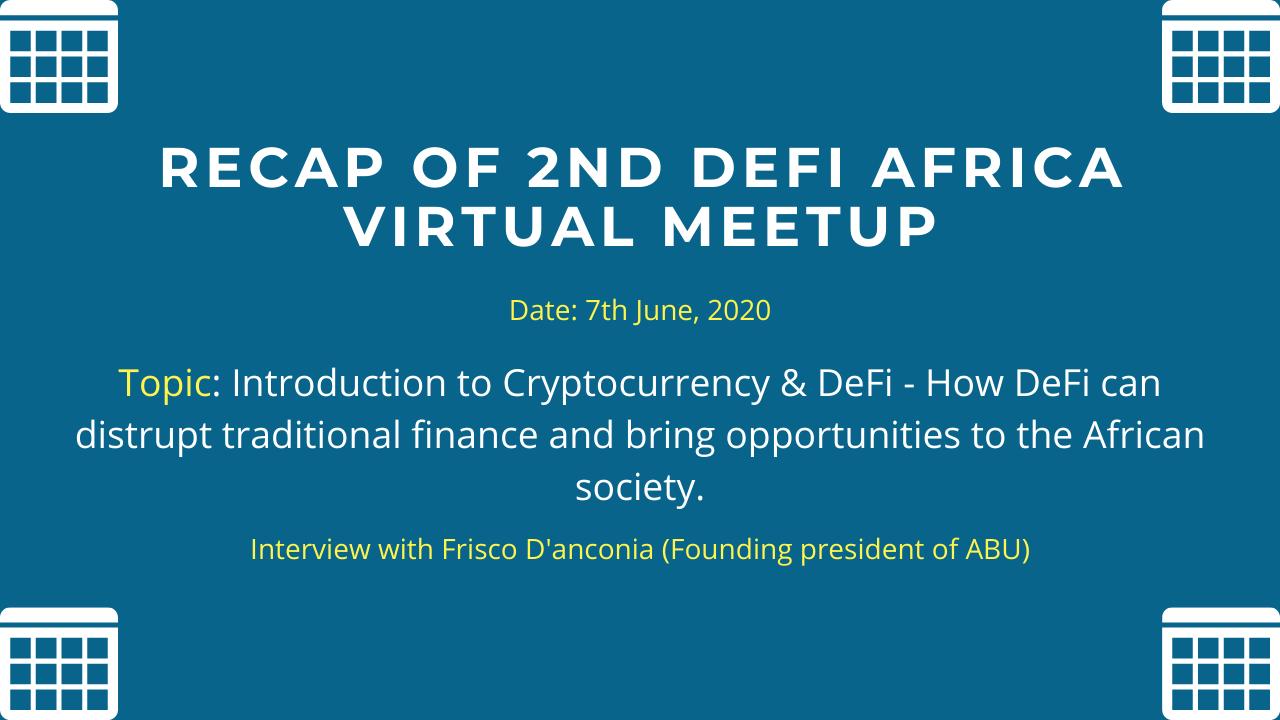 DeFi Africa 2nd Meetup